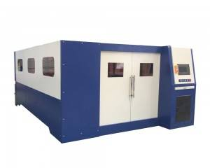Enclosed motong Serat laser