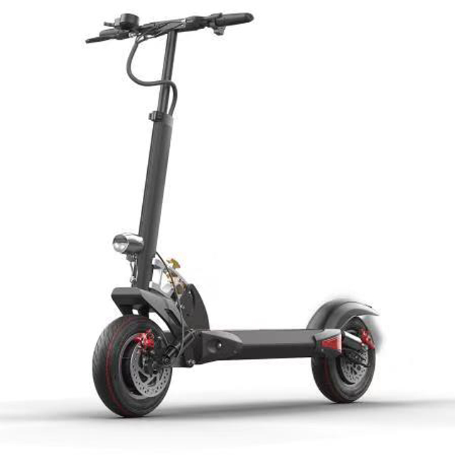 10 inch dual motor long distance electric scooter 2000w for adults Featured Image