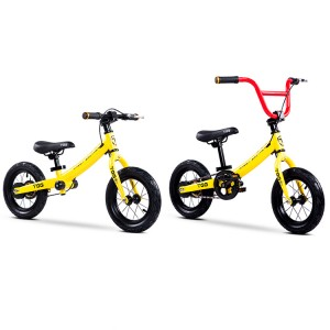 12 inch children mini baby carbon steel kids balance bike 2 wheels 2 in 1