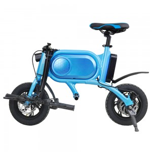 12 inch folding bicycle electric bike for adult with pedal