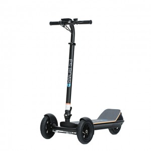 2019 8.5 inch three wheel off road electric scooter with led lights