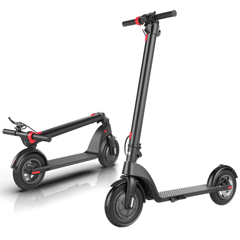 2020 china lighted wheel folding adult electric scooter Featured Image