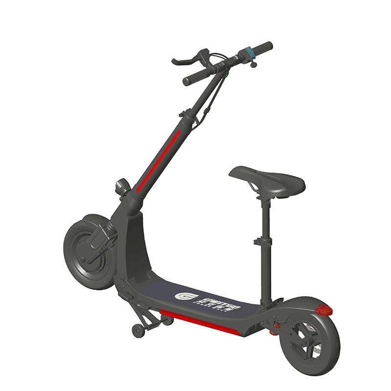 Factory Supply Dual Motor Electric Scoote -