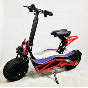High power big wheel electric scooter 1000w adults with pedals