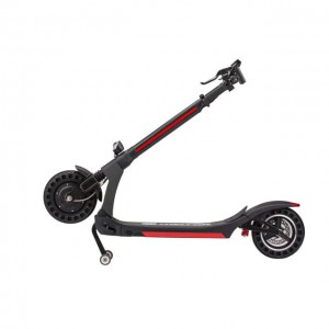 New model long range 10 inch two wheel foldable electric scooter with seat for adults