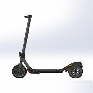 European Germany city road ce lithium battery power 20km/h 350w e scooter foldable