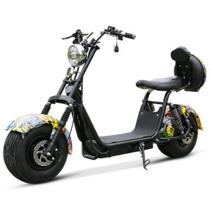 High reputation Dual Motor Scooter -