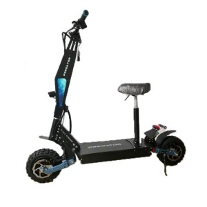 High quality 11 inch dual motor two wheel fat tire adults off road electric scooter 3600w