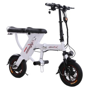 High quality two wheeler city 350w 48v foldable bicycle electric bike made in china