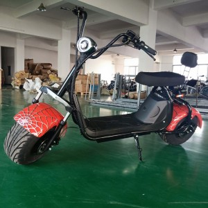 New design 8 inch electric scooter citycoco 1500W