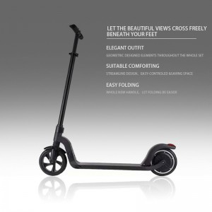 New design 8 inch two wheel foldable electric kick scooter