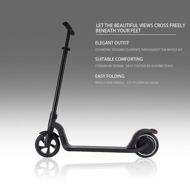 New design 8 inch two wheel foldable electric kick scooter Featured Image