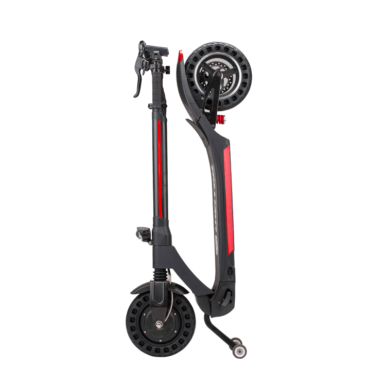 New model long range 10 inch two wheel foldable electric scooter with seat for adults Featured Image