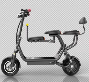 The top version is a double folding mini smart electric scooter, a parent-child model embracing scooter, and a three-seater luxury version two-wheel battery moped