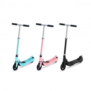 Wholesale children two wheel folding electric scooter