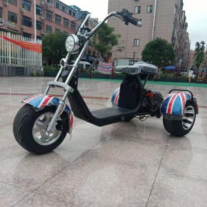 2017 New Style Brushless Dc Motor Electric Scooter -