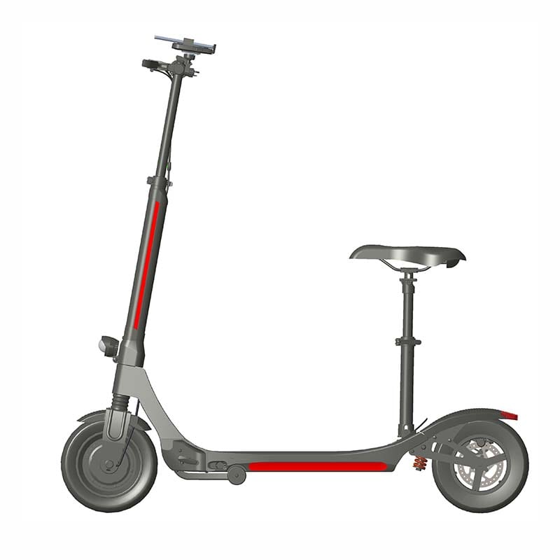 Cheapest Factory Aluminum Frame Scooters -