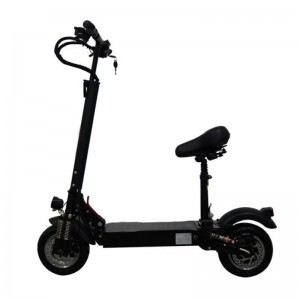 China 3200w powerful two wheel foldable electric scooter with 11 inch fat tire
