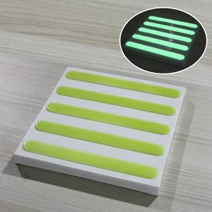 Hot sale Factory Photoluminescent Glow Emergency Exit Sign -
