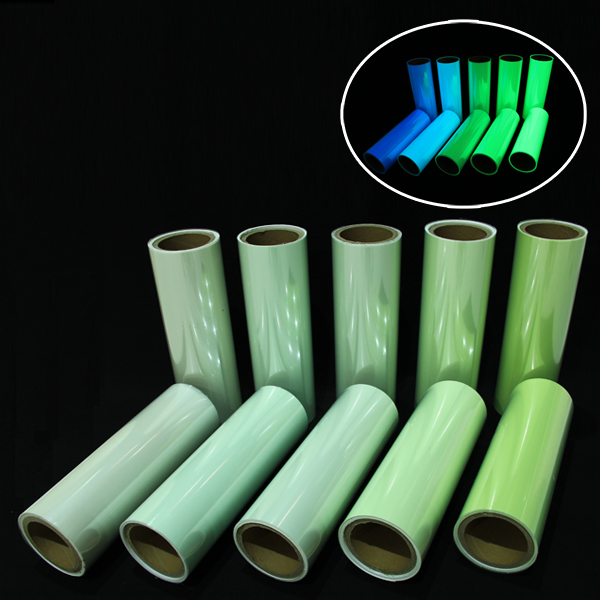 Factory supplied Printable Photoluminescent Vinyl Film -