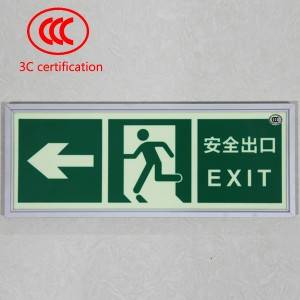 Luminous Escape Indication Sign
