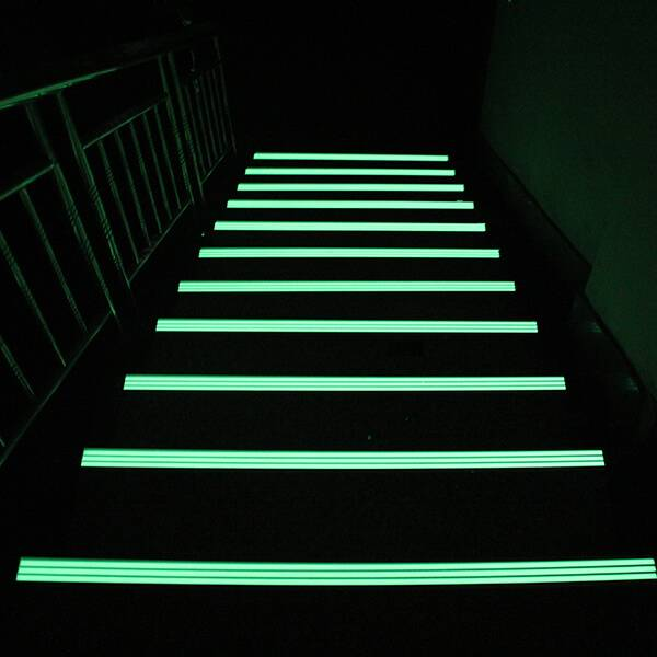 Super Purchasing for Glow In The Dark Stone - Photoluminescent Stairs Markers – Minhui Luminous detail pictures