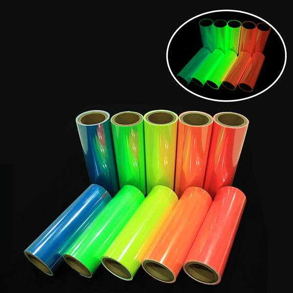 High definition Luminescent Aluminum Board - Self-adhesive PVC Film – Minhui Luminous