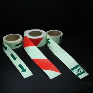 High definition Red Glow In The Dark Powder -