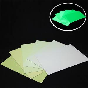 Luminescent PVC Hazvichinji-chinji Sheet
