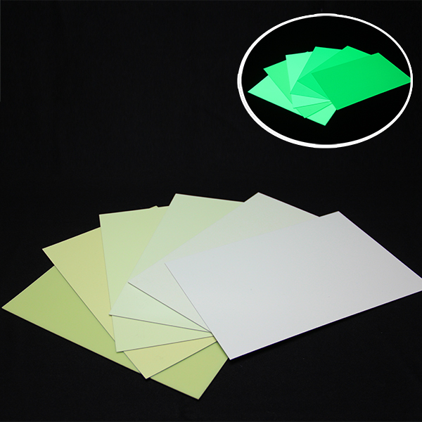 2017 China New Design Printable Glow Pvc Self-Adhesive Vinyls -  Luminescent PVC Rigid Sheet – Minhui Luminous