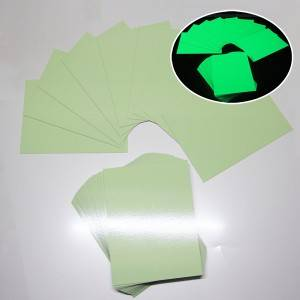 Luminescent Aluminum Sheet