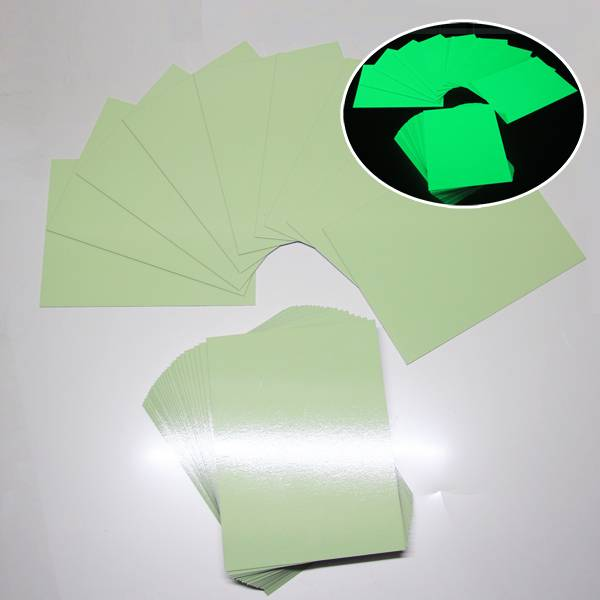 OEM/ODM Supplier Printable Glow In The Dark Pvc Rigid Board -