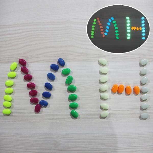 Factory Cheap Printable Glow In Dark Pvc Adhesive Vinyl -