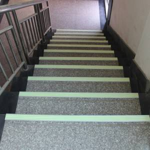Photoluminescent Stairs Markers