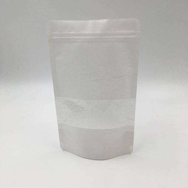 factory low price Blank White Paper Coffee Bag -