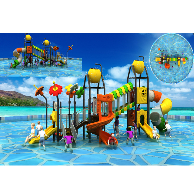 New Design Professional Custom High Quality Fiberglass Childrens' Water Slide playground Featured Image