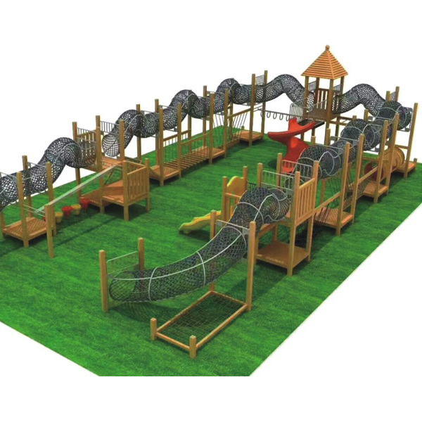 Multifunction Steel Kids Outdoor Climbing Structure for Exercise Featured Image