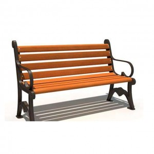New WPC Wooden Garden Park Bench Seat Bench