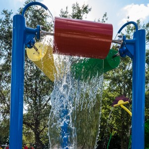 Play and Splash Commercial splash pads for parks