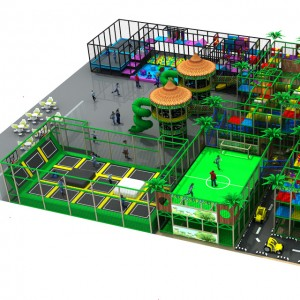 china indoor trampoline park