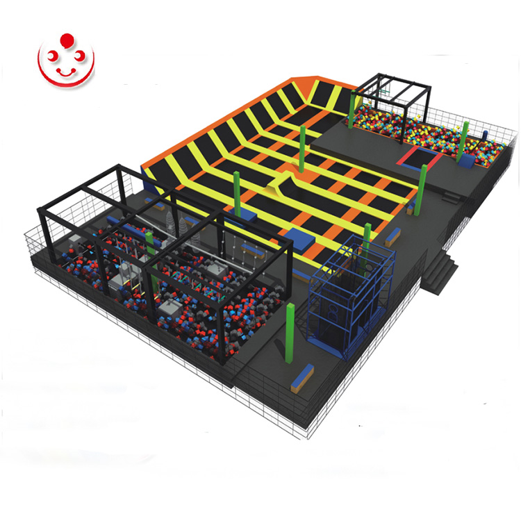 Customized indoor Trampoline park for Fitness Featured Image