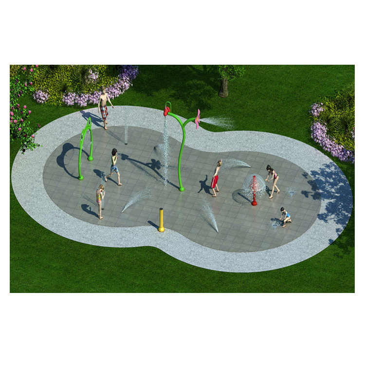 Commercial Used Pool Kids Water Play Equipment Water Splash Pad for Sale Featured Image