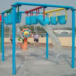 outdoor swimming pool splash pad Aqua Resort