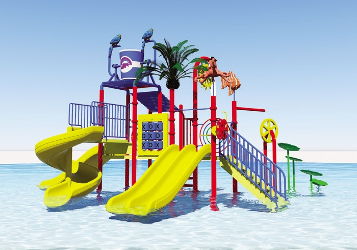 fiberglass kids water play adventure water house Featured Image