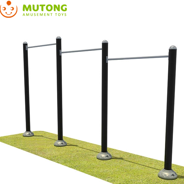 High quality outdoor horizontal bar fitness equipment Strong body exercise arm muscles gym equipment Featured Image