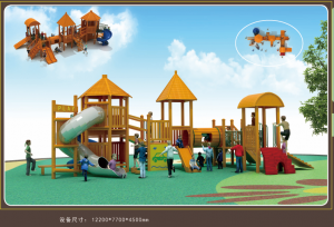 2018 New Design outdoor playground equipment slide child