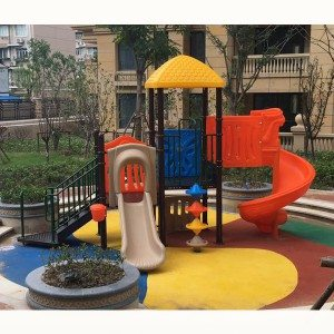Amusement Park Used Outdoor Playground Plastic Slide