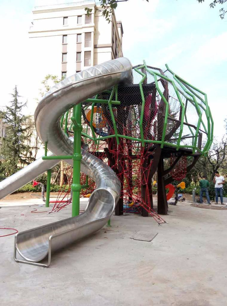 Stainless steel playground slide Featured Image