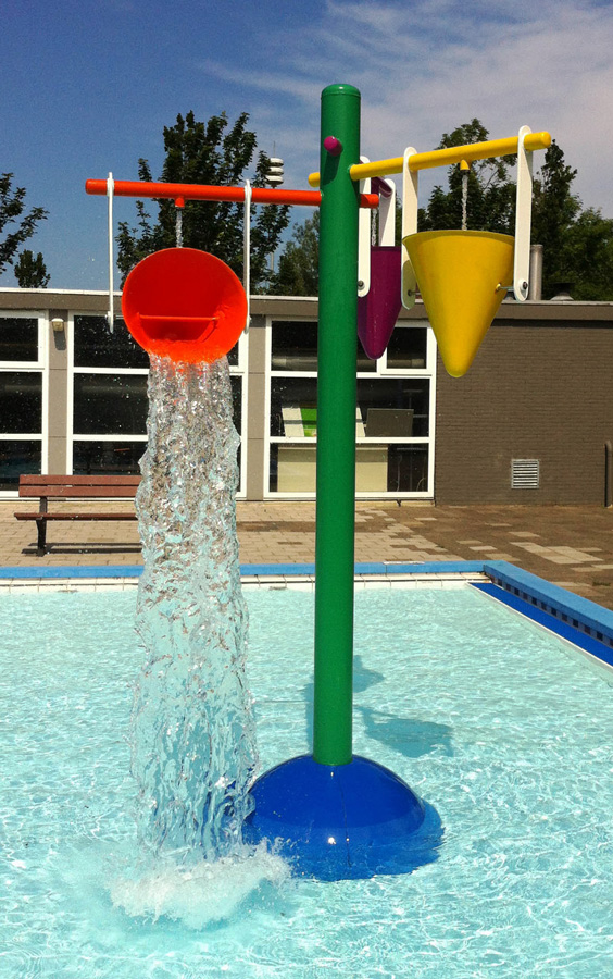 double drench bucket for kids summer water play Featured Image