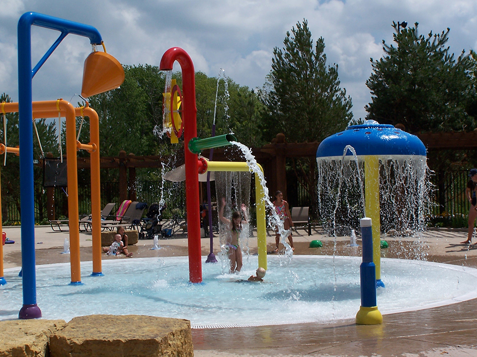 Water Splash Pad Outdoor Playground Equipment